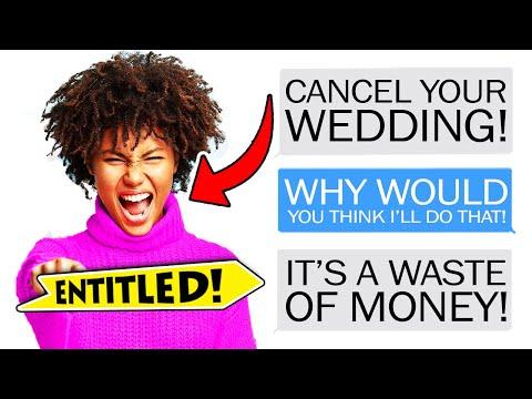 r/EntitledParents - Entitled Mom DEMANDS She CANCEL Her Wedding...
