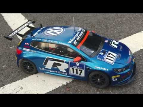 RC CAR VW Scirocco GT 24 CNG 1:10 TT 01 Type E Chassis