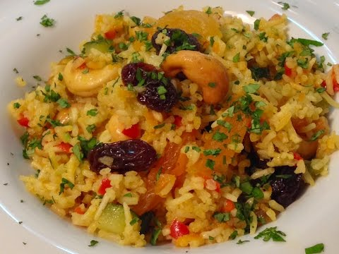 Arroz Basmati Con Verduras Al Curry #15