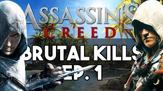 """With Assassin's Creed Origins on the Horizon I wanted make a series compiling the Awesome Brutal Combat we've all had the pleasure of experiencing as various Assassins over the years, So I Hope You Enjoy.Don't Forget to Leave a Like! :) and a comment on your views of AC: Origins!Subscribe and Hit the Notification Bell to Keep up to Date with When I Upload!►Subscribe to me here!: http://www.youtube.com/subscription_c…►Follow me on Instagram: https://www.instagram.com/o_knightz_o/ ►Check out Other Easter Egg Here!: https://www.youtube.com/playlist?list=PLud5z0-p8XHghQADyX6zBUkw12elgapjuAssassin's Creed is a franchise centered on an action-adventure video-game series developed by Ubisoft. It depicts in the centuries-old struggle between the Assassins, who fight for peace with free will, and the Templars, who desire peace through control. Featuring historical fiction and characters, mixed with real-world historical events, and figures. The series took inspiration from the novel Alamut by the Slovenian writer Vladimir Bartol, while building upon concepts from the Prince of Persia series. The Ezio Collection, developed by Virtuos and Ubisoft Montreal, features remastered versions of Assassin's Creed 2, Assassin's Creed: Brotherhood, and Assassin's Creed: Revelations' single-player modes, using the Anvil engine, for the PlayStation 4 and Xbox One (the multiplayer being excluded from the package). The games feature improved graphics, lighting, effects and textures, and also includes all previously released downloadable content for the single-player. In addition, the bundle features the short films Assassin's Creed: Embers and Assassin's Creed: Lineage. The collection was released on November 15, 2016, receiving """"mixed or average reviews"""", according to review aggregator Metacritic. It was criticized for its subpar graphical enhancements for the next generation of consoles, the dated gameplay, and the capped 30 frames per second.Music:Ibn Al-NoorbyKevin MacLeodis licensed und"""