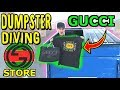 Download Lagu GUCCI STORE DUMPSTER DIVING!!.. We Found SO MUCH HEAT!! Mp3 Free