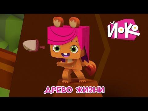 Познавательные мультики детям - ЙОКО 🌳🌞 Древо жизни - Детские мультфильмы (видео)