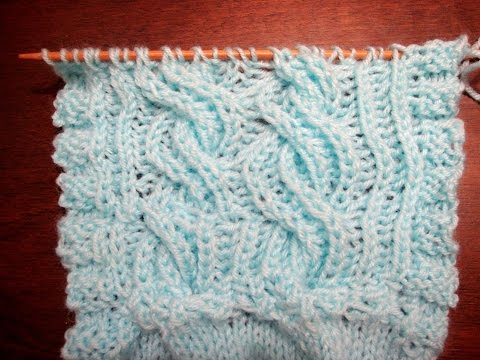 lavorazione intrecciata e reversibile a maglia