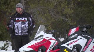 6. Polaris AXYS PRO S vs  PRO X Comparison by SuperTrax and SnowTrax TV   Polaris Snowmobiles