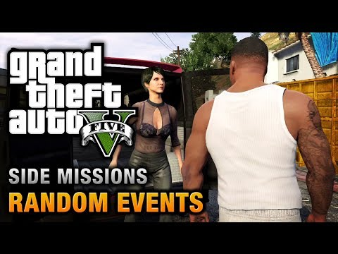 events - Walkthrough / Guide for all the 57 Random Events to complete in Grand Theft Auto V (HD) GTA V Achievements / Trophies and Side Missions Playlist: http://www....
