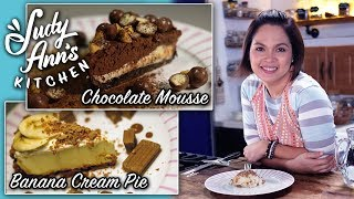 Video [Judy Ann's Kitchen 11] Ep 2 : Banana Cream Pie and Chocolate Mousse | Easy Desserts MP3, 3GP, MP4, WEBM, AVI, FLV April 2019