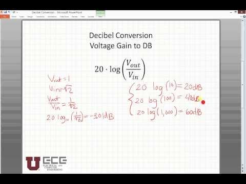 dB Conversion