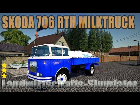 Skoda 706RTH MilkTruck v1.0.0.0