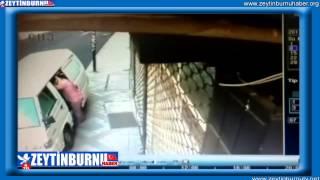 Zeytinburnunda Hırsızlık Güvenlik Kamarasında