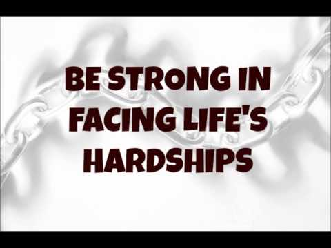 Ed Lapiz - Be Strong in Facing Life's Hardships