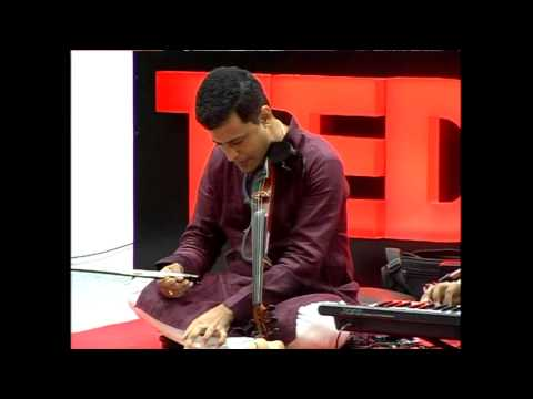 Music Beyond Convention: Keyboard Sathya & Embar S. Kannan At TEDxSAIRAM