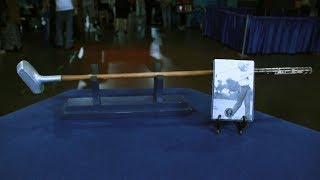 Watch Leila Dunbar's appraisal of a J.M. Shippen stamped putter, ca. 1910, from Orlando!ANTIQUES ROADSHOW airs Mondays at 8/7C PM & 9/8C PM on PBS. Watch full-length episodes of ANTIQUES ROADSHOW at http://www.pbs.org/show/antiques-roadshowTo be the first to know about all our broadcast and tour info, subscribe to our newsletter and follow us on Twitter & Instagram @RoadshowPBS, Pinterest, and Facebook!