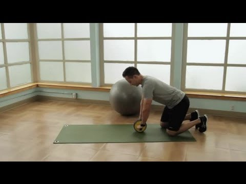 How to Use a Rolling Wheel on Your Knees for Your Abs : LIVESTRONG: Fitness & Exercise Tips