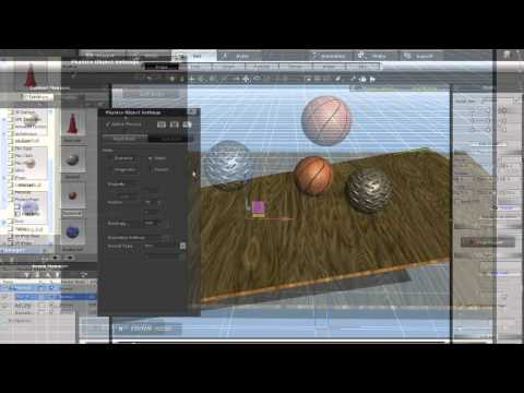 iClone5 Tutorial – Physics 101 Dynamic and Static Object Interaction