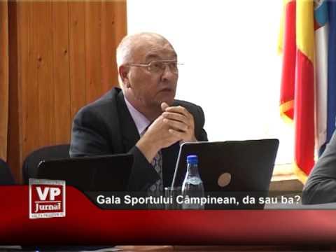 Gala Sportului Câmpinean, da sau ba?