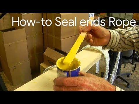 How To Seal The Ends Of Ropes So They Don't Fray And Come Apart