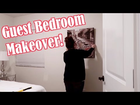 DECORATE With Me! GUEST BEDROOM Makeover