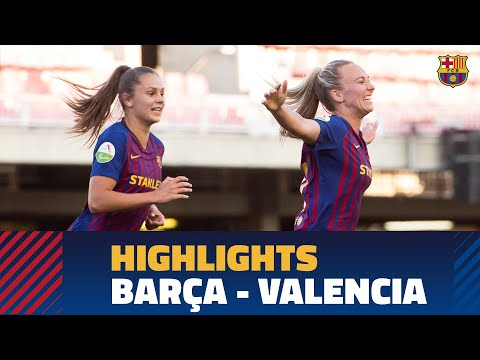 [HIGHLIGHTS] Women's (Liga): FC Barcelona – Valencia CF (3-0)