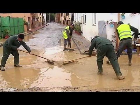 Ισπανία: Νεκρούς και υλικές καταστροφές άφησε πίσω της η κακοκαιρία