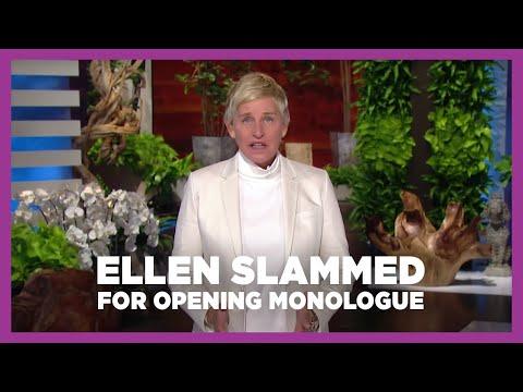 "Ellen Degeneres SLAMMED for ""Tone Deaf"" Opening Monologue Kicking Off Season 18"