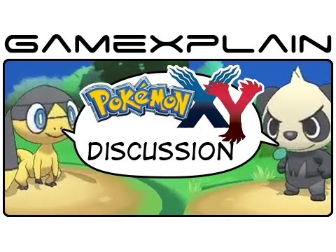 3DS - http://www.GameXplain.com We talk everything Pokemon X & Pokemon Y in our latest discussion video as we explore our thoughts on the latest trailer and the wo...