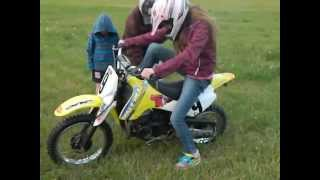 2. 2003 Suzuki JR80 - First Time Riding A Dirt Bike