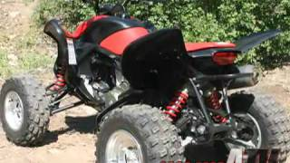7. 2008 Honda 700XX Test - ATVTV Test Videos
