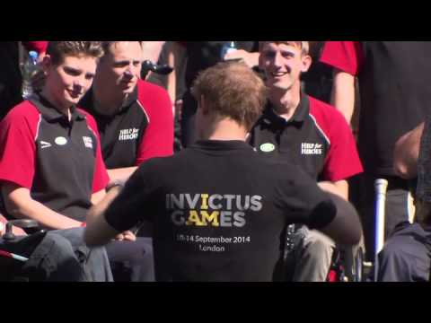 Prince Harry Speaks At The Invictus Games Launch