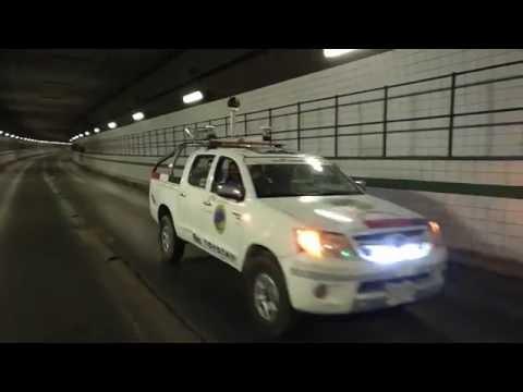 Laser Scanning beneath Suez Canal (Ahmed Hamdi Tunnel)