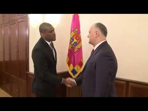 Igor Dodon a avut o întrevedere de lucru cu Ambasadorul SUA în Republica Moldova