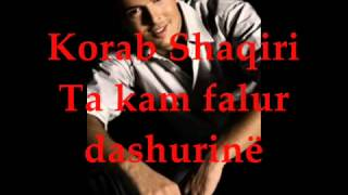 Korab Shaqiri - Vetëm Ti - (Ta Kam Falur Dashurinë)