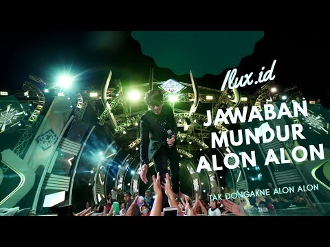 Jawaban Mundur Alon Alon - Ilux ID ( Official Music Video ANEKA SAFARI ) Tak Dongakne Alon Alon