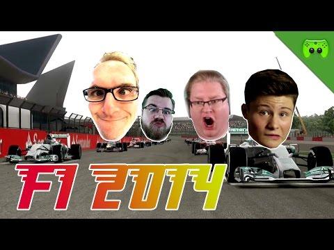 F1 2014 # 13 - GP von Großbritannien 1/2 «» Let's Play F1 2014 PC   Full HD
