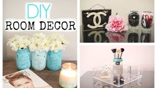 DIY Mason Jar Room Decor ♡Cute + Affordable♡ - YouTube