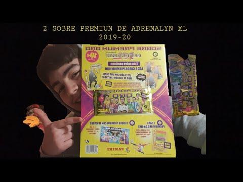 ABRIENDO MI 2 SOBRE PREMIUM ORO CON UN SOBRE PREMIUM DENTRO DE ADRENALYN XL 2019-20 PARTE#16/giods1