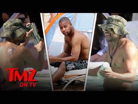 Cuba Gooding Jr. Lets Loose In A Pool In Vegas | TMZ TV