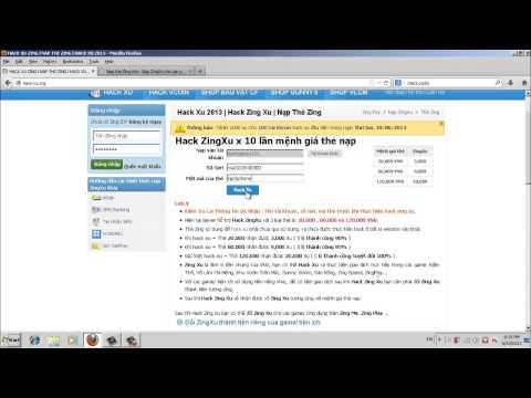 Hack Xu Hàng Rong | Hack Tiền Đô Hàng Rong | Hack Hàng Rong 2013
