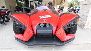 9. 2015 Polaris Slingshot SL Test Drive