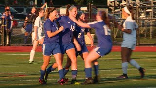 Girls' soccer highlights: Old Lyme 3, East Lyme 0