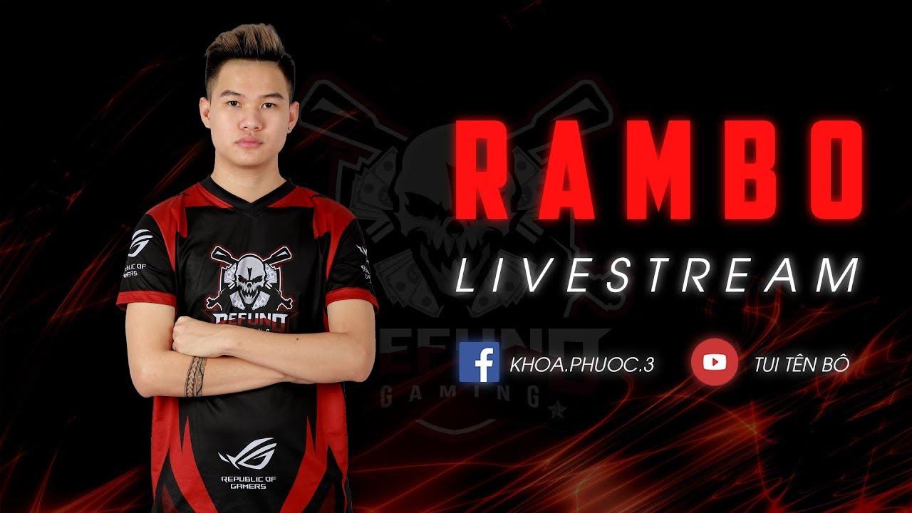 RAMBO LIVE l Hí anh em - YouTube