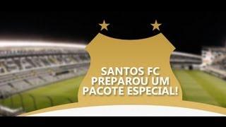 O Santos preparou um pacote especial para sócios do Clube para três jogos do Brasileirão com mando do Peixe: Criciúma...