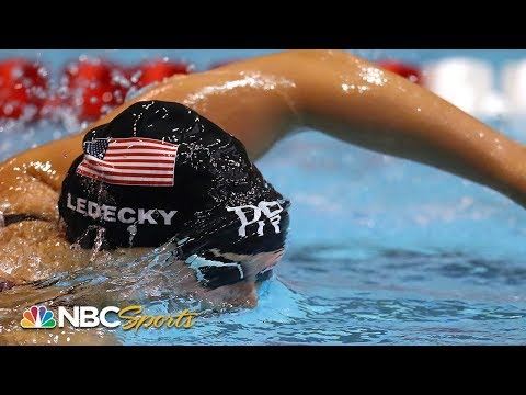 Katie Ledecky holds off Simone Manuel for 200 free victory in Bloomington | NBC Sports