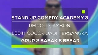 Video Stand Up Comedy Academy 3 : Reinold, Ambon - Lebih Cocok Jadi Tersangka MP3, 3GP, MP4, WEBM, AVI, FLV November 2017