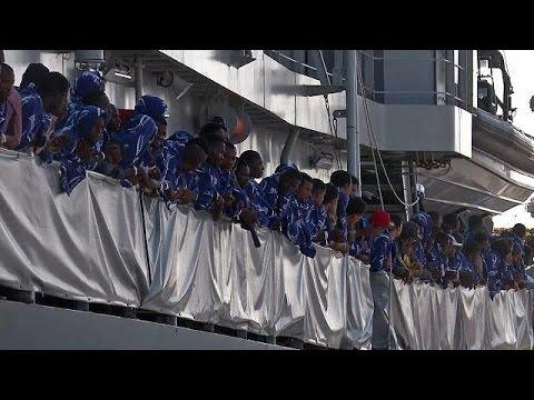 Ιταλία: 10.000 πρόσφυγες διασώθηκαν σε δύο 24ωρα