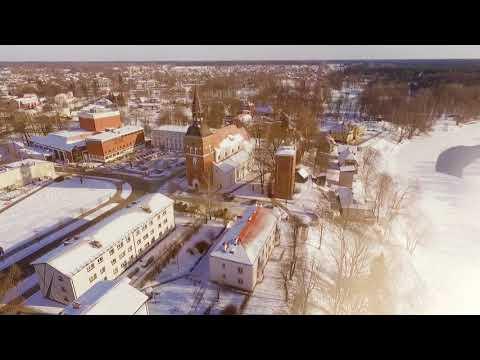 Winter wonderland in Valmiera