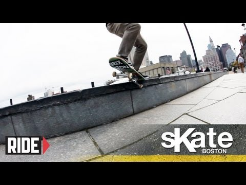 SKATE Boston with Kevin Coakley and the Orchard Skateshop Crew