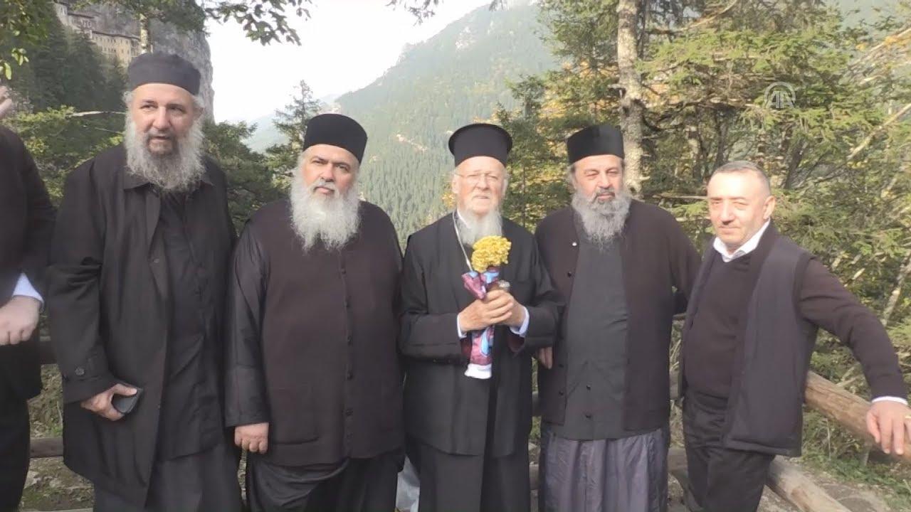 Ο Πατριάρχης Βαρθολομαίος στην Παναγία Σουμελά και σε άλλα προσκυνήματα του Πόντου