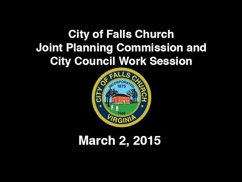 Joint Planning Commission and City Council Work Session March 2, 2015