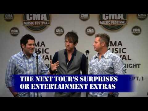 Rascal Flatts CMA Fest Interview