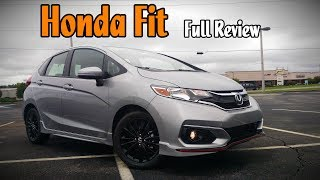 7. 2018 Honda Fit: Full Review | EX-L, EX, Sport & LX